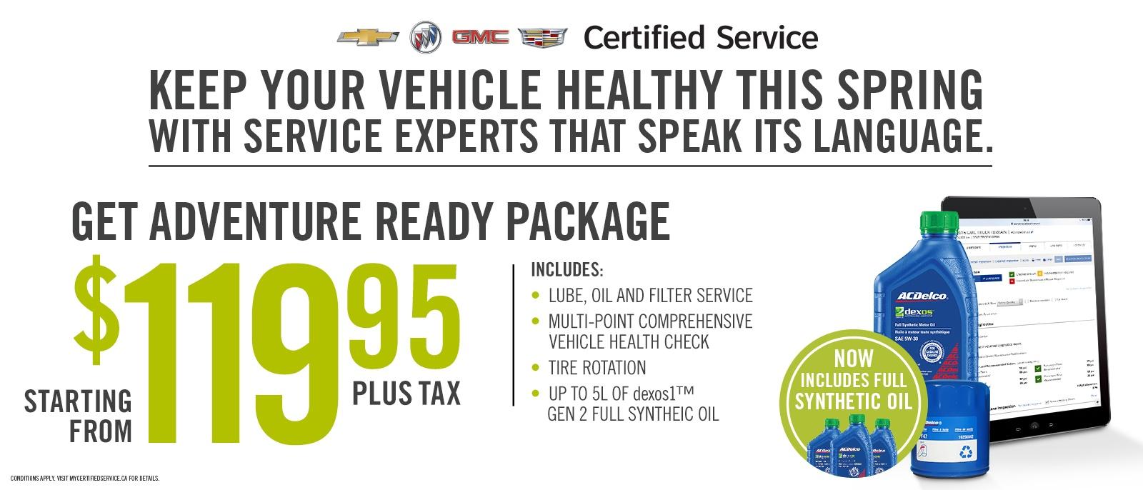 Car Maintenance Special