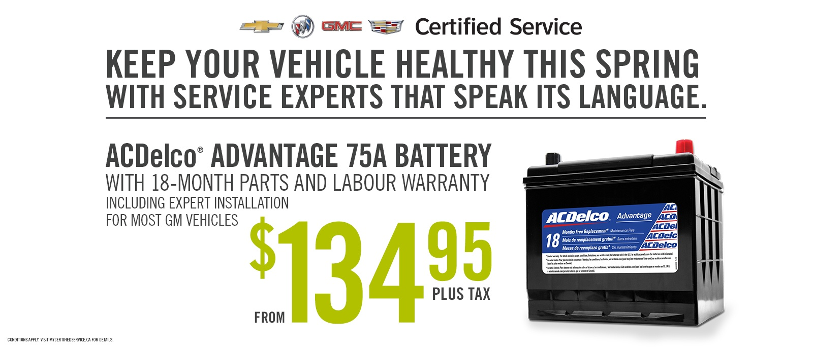 Chevrolet Battery Special