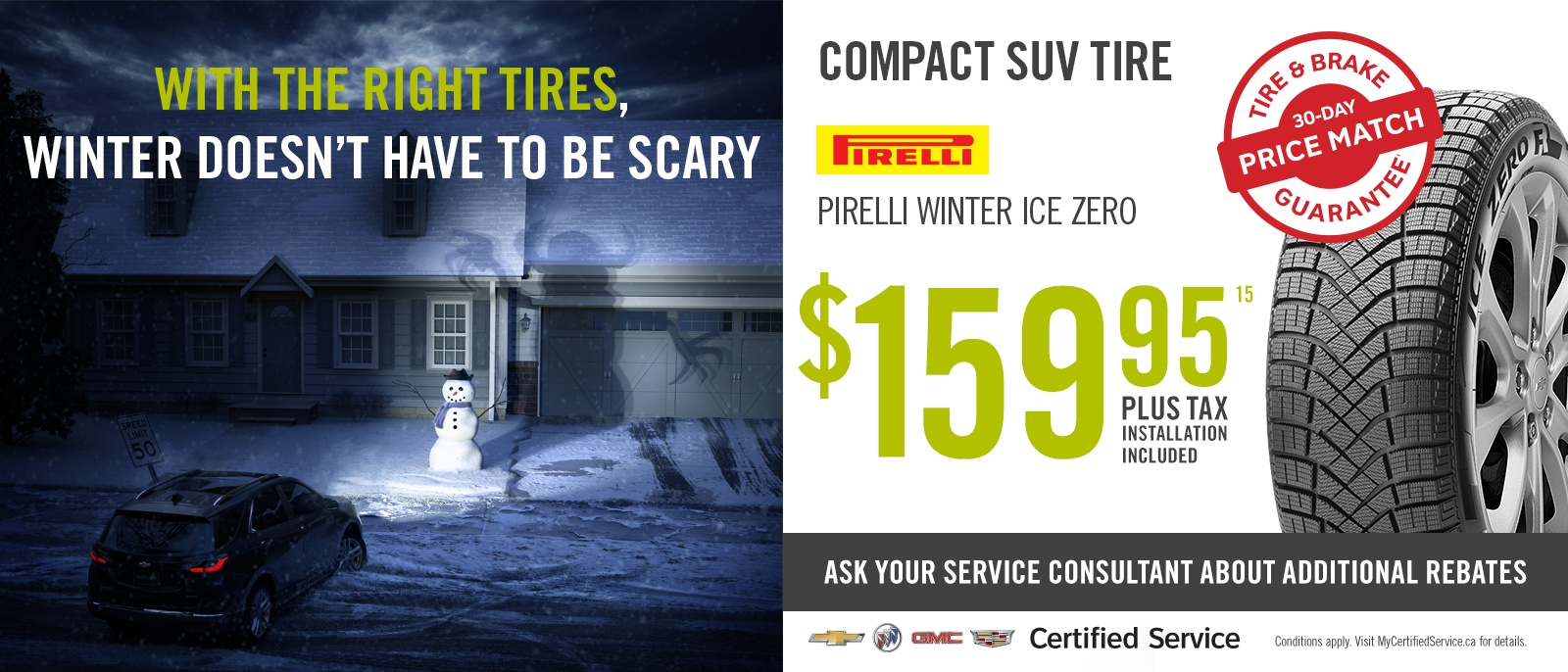 Winter Tire Specials SUVs