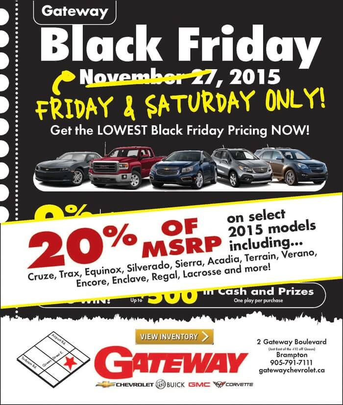 Black Friday Gateway