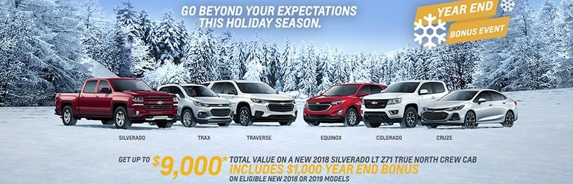 Chevrolet Specials December 2018