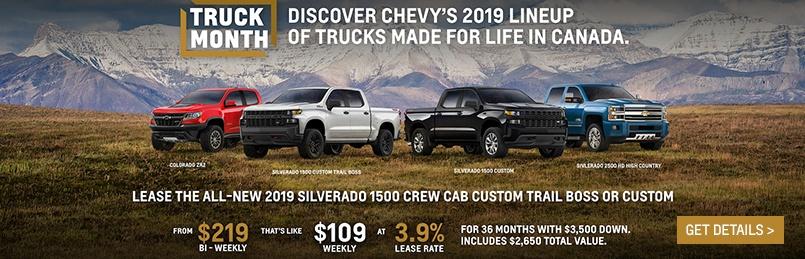 Chevrolet Specials March 2019