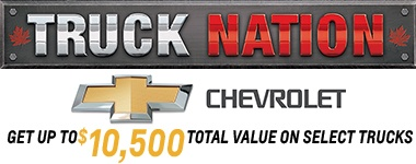 Chevy Truck Specials May