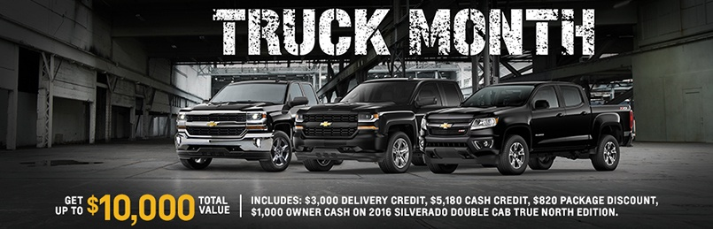 Truck Specials March 2016