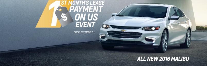 Chevrolet Specials April