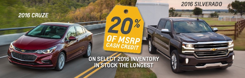 Chevrolet Specials June 2016