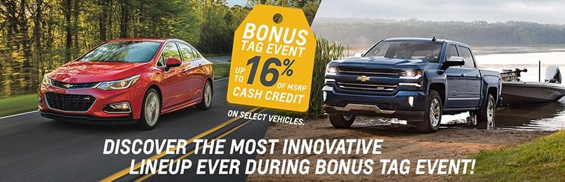 Chevrolet Specials September 2016