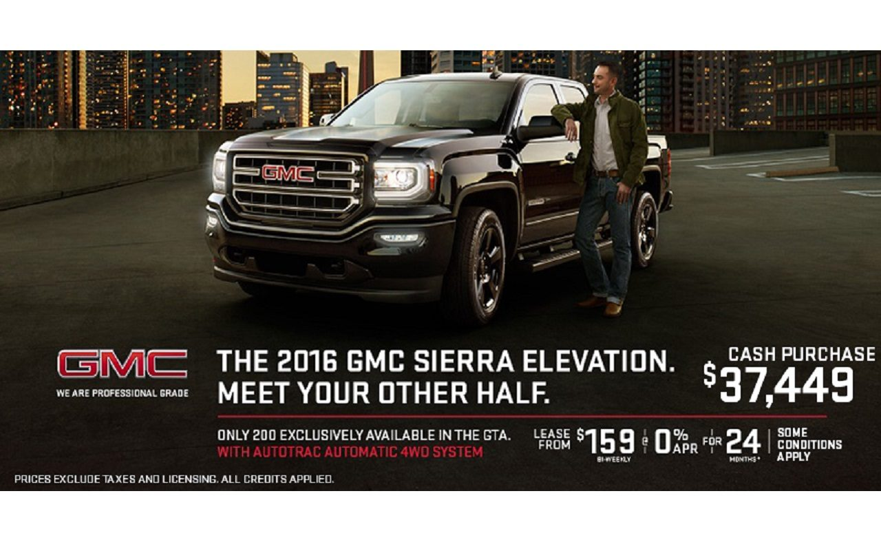 GMC Sierra November