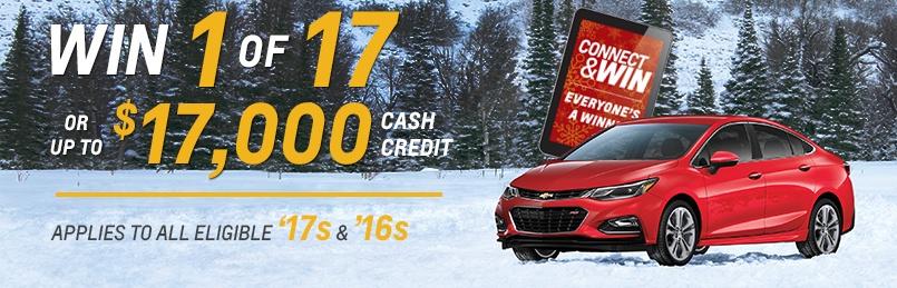 Chevrolet Specials December