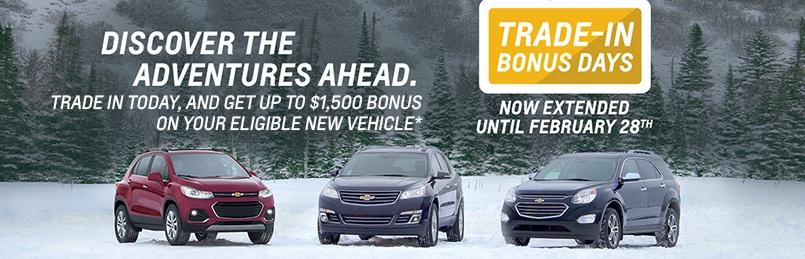 Chevrolet Specials February