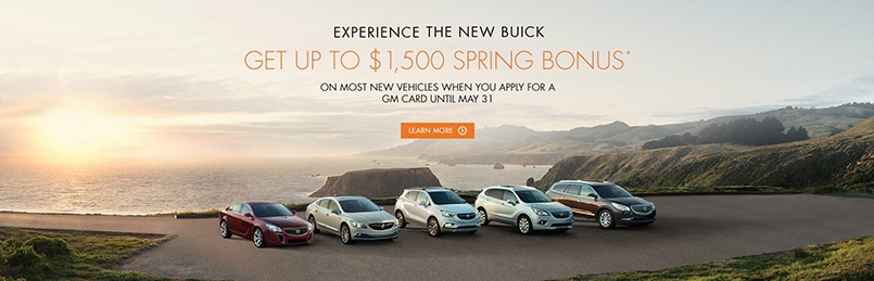Buick Specials May