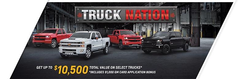 Chevrolet Specials May