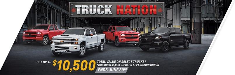 Chevrolet Specials June 2017