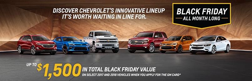 Chevrolet Specials November 2017