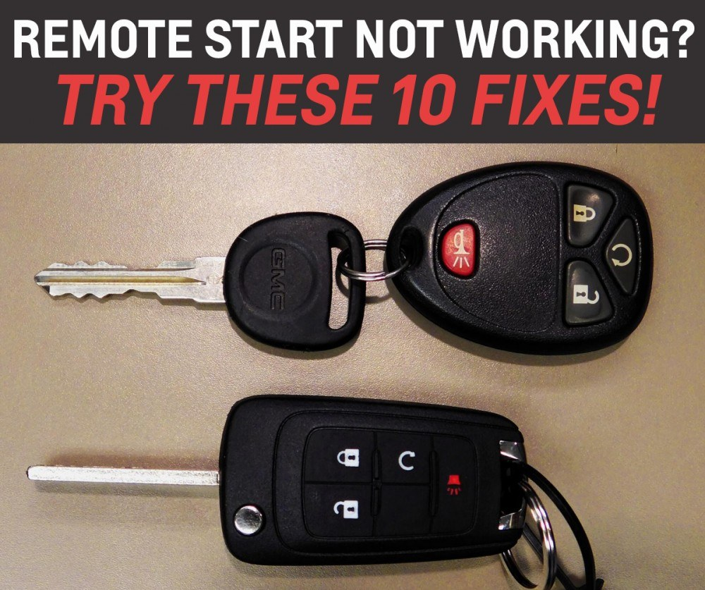 Remote start not working 10 things to check