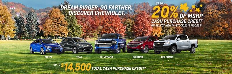 Chevrolet Specials Oct 2018