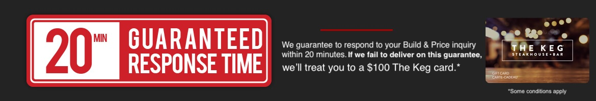 20 Minute Guaranteed Response Time