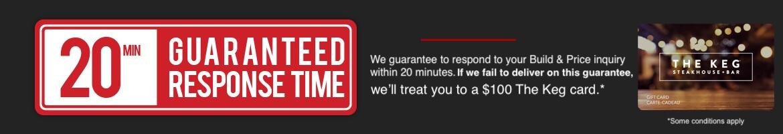 20 Minute Guaranteed Response Time