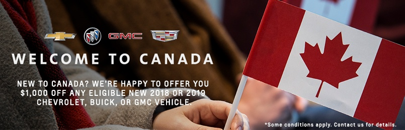 Discounts for New Canadians