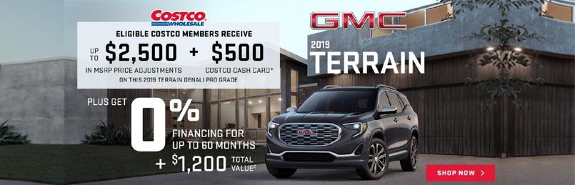 GMC Terrain August 2019